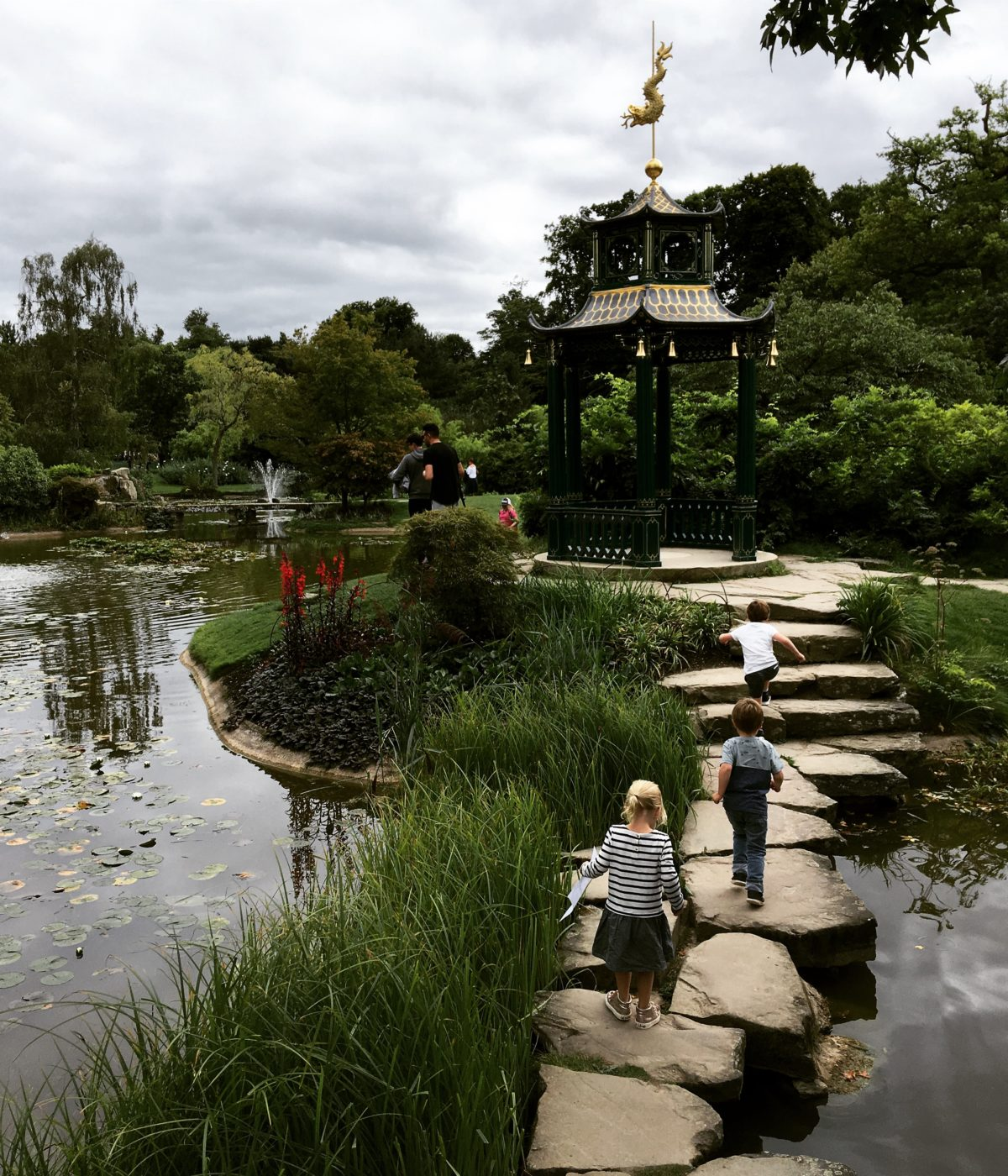 Chinese Boxes – 'The Secret Garden' in the Cliveden Water Garden